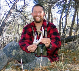 coues whitetail shed antler