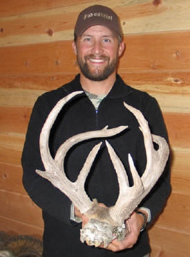 coues deer rack 120 inches